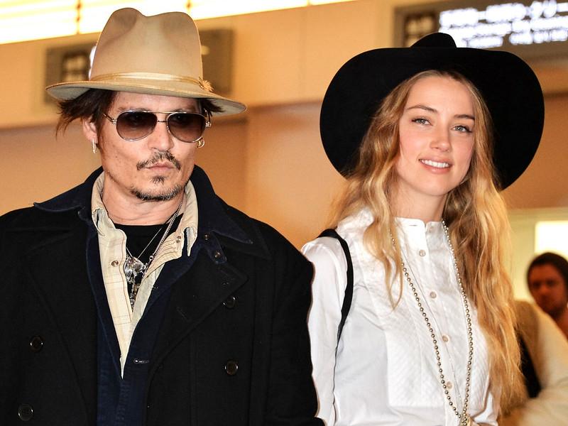 Джонни Депп и Эмбер Херд женаты с 2015 года