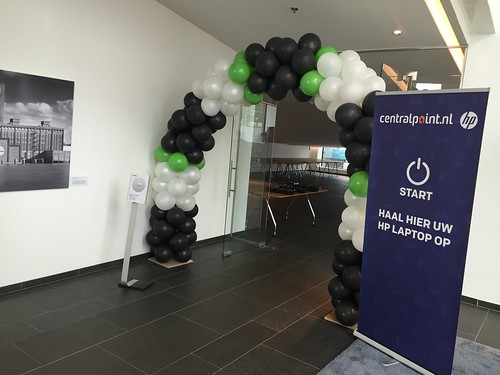 Ballonboog 6m Deloitte Rotterdam
