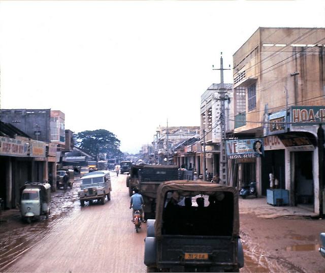 Downtown Qui Nhon - Photo by SP5 Art Harrison 1966-67