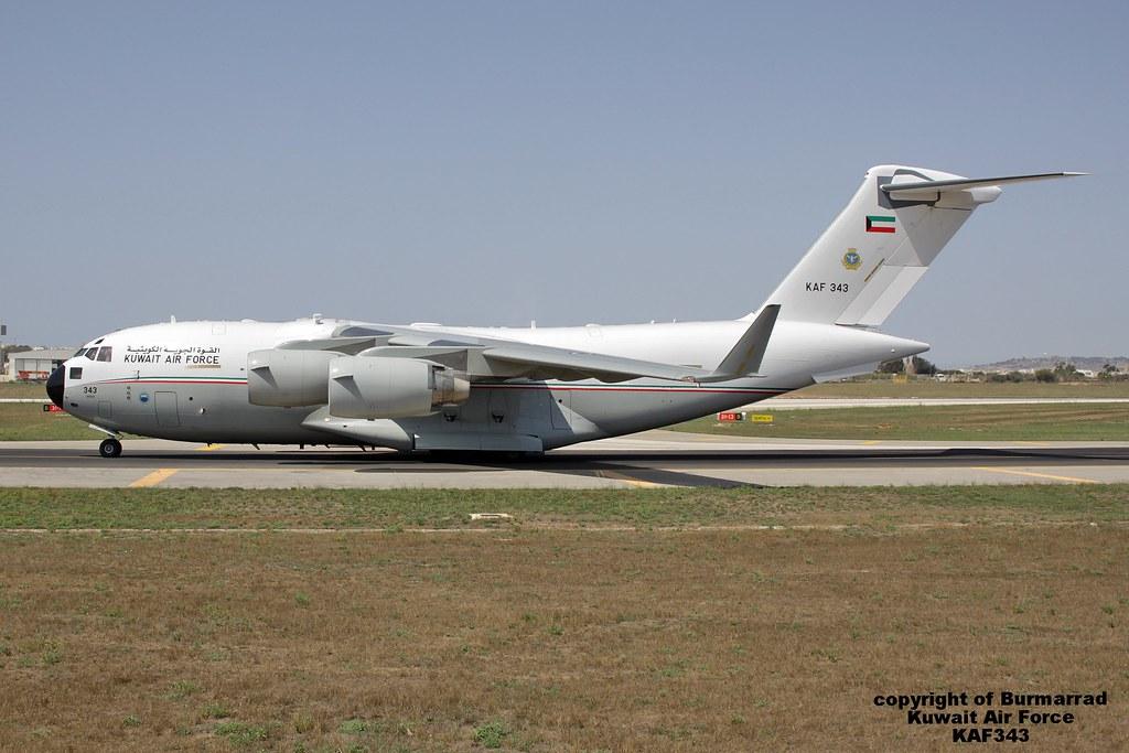 KAF343 - C17 - Kyrgyz Air