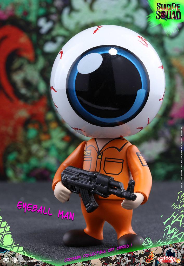 史上最惡棍的超級英雄?!Hot Toys – COSB321 –【自殺突擊隊 第一彈】Suicide Squad Cosbaby Series 1