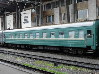 Ukrainian Railways - old sleeping car (16.04.2010)