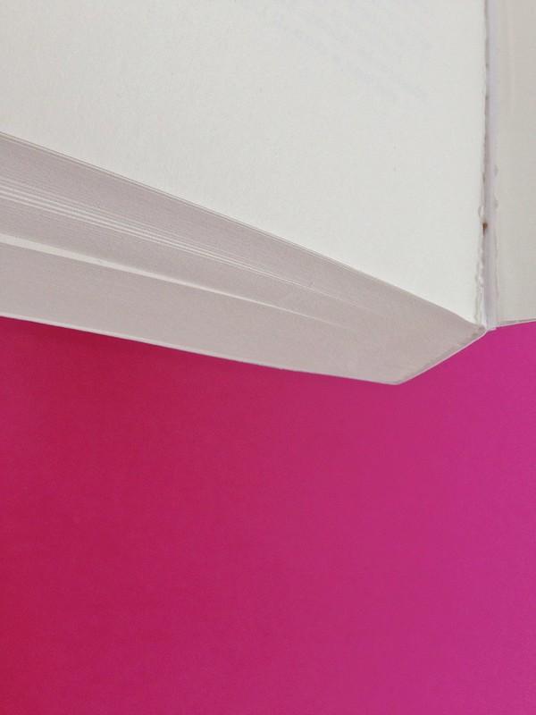 Gli anni, di Virginia Woolf. Feltrinelli 2015. Art dir.: Cristiano Guerri; alla cop.: ill. col. di Carlotta Cogliati. Verso della carta di guardia posteriore, taglio inferiore, verso della q. di cop. (part.), 1