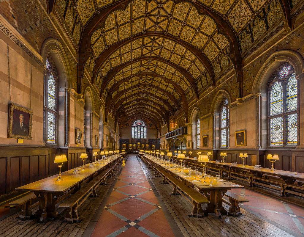 Keble College Dining Hall, Oxford