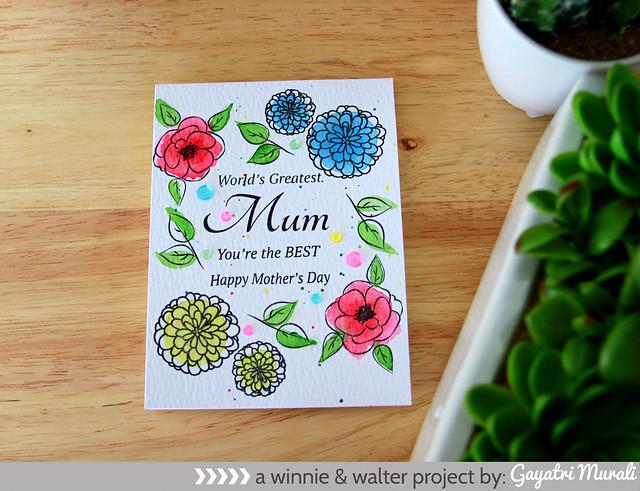 gayatri_Mother day card flat