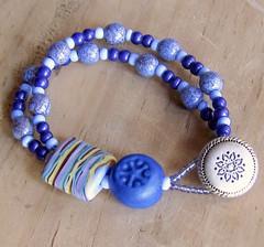 Periwinkle & Blue Bracelet