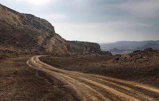 Caminos de la costa del Perú