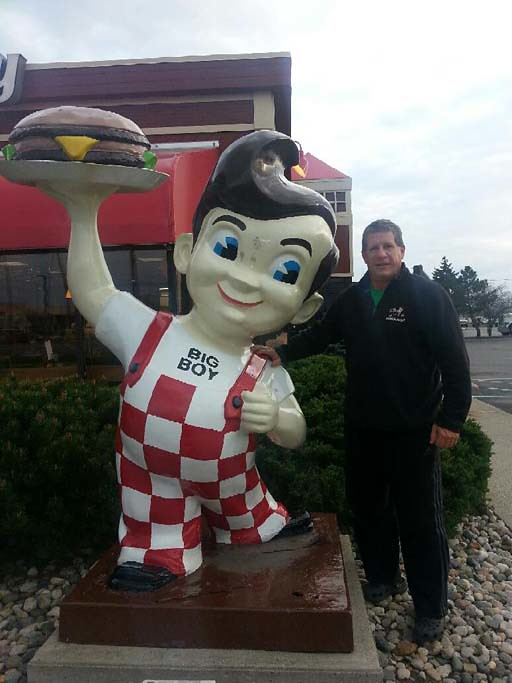 With the original BIG BOY-Elkhart, IN