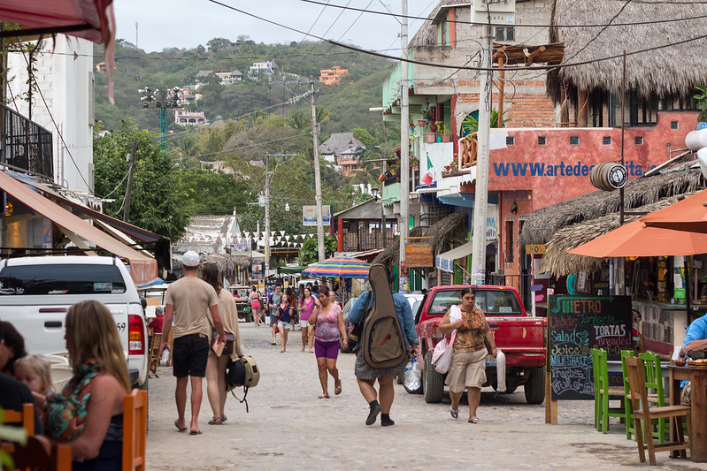 street, Sayulita, Mexico