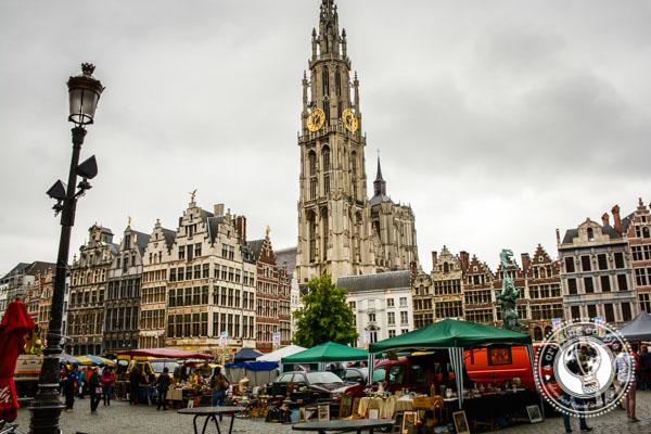 Grand Market Antwerp Belgium
