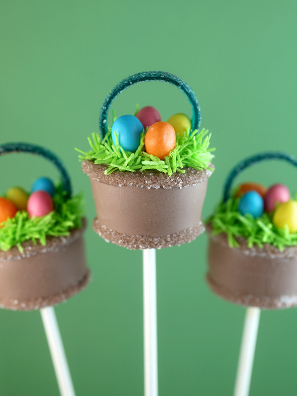 Easter Basket Cake Pops