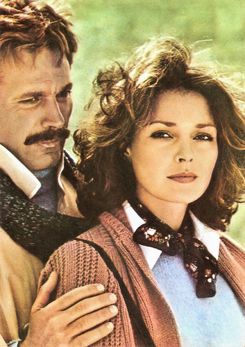 Franco Nero and Jennifer O'Neil in Gente di rispetto (1975)