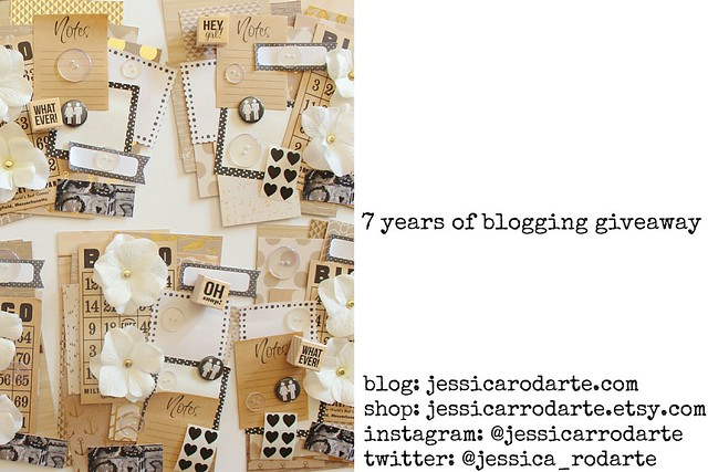 7 years of blogging giveaway