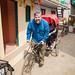 Giving a Ride on the Set of Yeh Rishta Kya Kehlata Hai by jeff_a_goldberg
