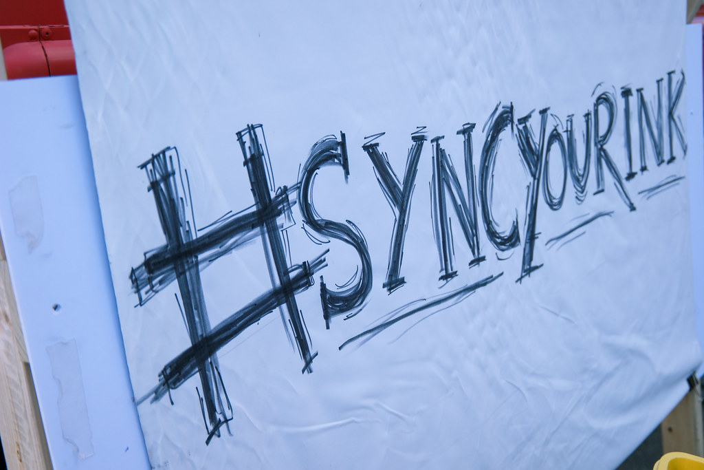 SyncYourInk.club at SXSW 2015