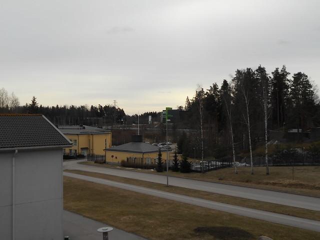 Osittainen auringonpimennys Espoossa 20.3.2015 - Tilanne juuri ennen pimennyksen alkua