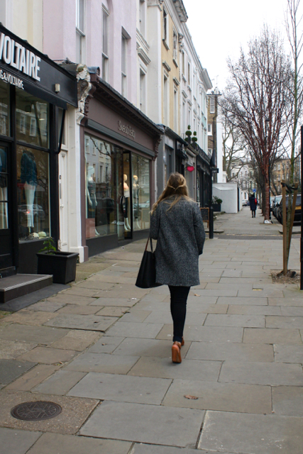 Strolling through Notting Hill, London