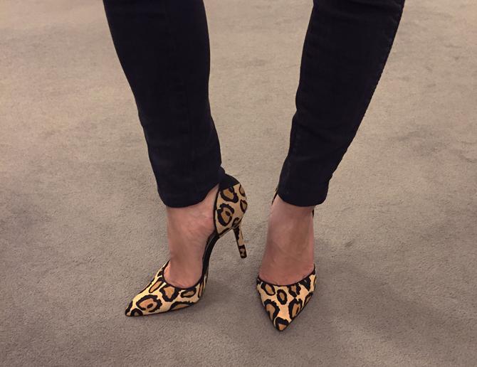 sam edelman Delilah leopard heels