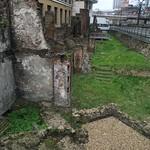 London Wall 的形象. london ruins guildhall londonwall romanruins