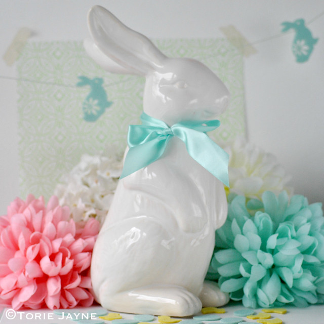 Ceramic bunny