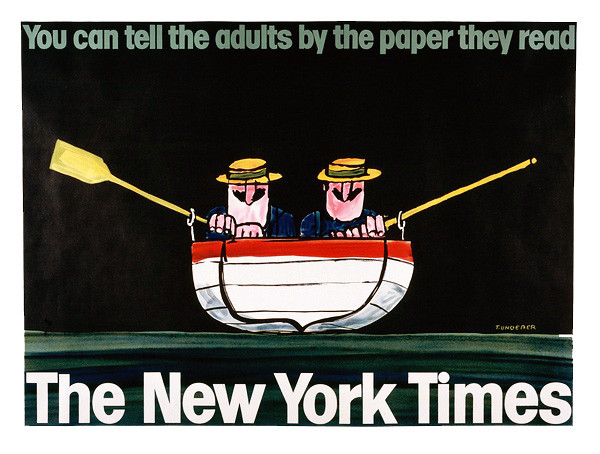 New York Times poster