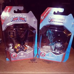 Not clear but still over excited to finally have these. #skylanders