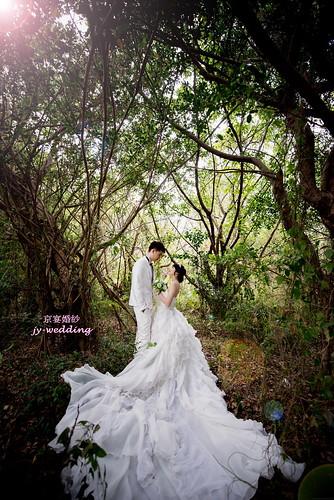 高雄婚紗推薦_高雄京宴婚紗_如何依身型挑選適合的婚紗禮服_矮+瘦