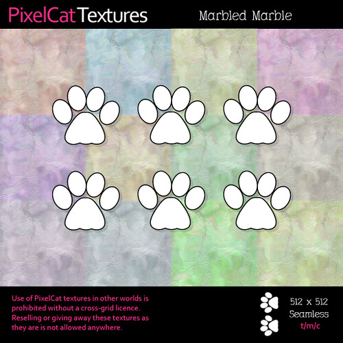 PixelCat Textures - Marbled Marble