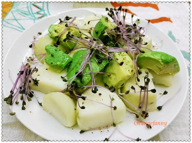 150415 水煮馬鈴薯、酪梨與水芹沙拉-01