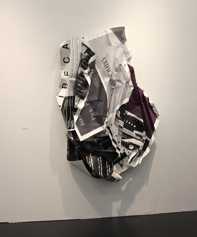 Olaf Metzel at booth Wentrup, Berlin
