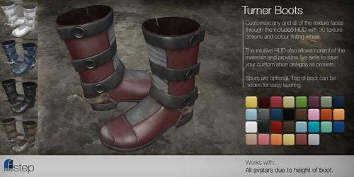 FATEstep - Turner Boots