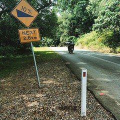 3rd peak down - time for my last descent #whee #cyclinglife #hillclimb #hinterland #goldcoast #cycling #cycle