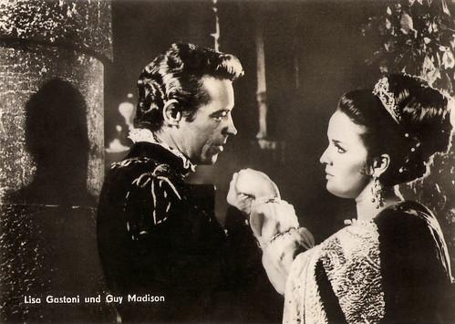 Lisa Gastoni and Guy Madison in Il vendicatore mascherato (1964)
