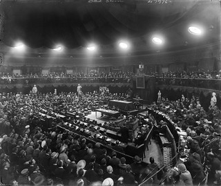 Dáil Éireann meeting in the Mansion House, August, 1921