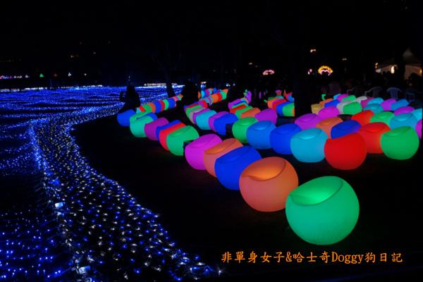 日本大阪城公園梅林城天守閣3D光之陣21