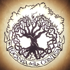 Locanda della Contea - Montalenghe (TO) - Logo by Dino Olivieri