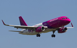 HA-LYM Wizz Air Hungary Airbus A320-200 - cn 6544