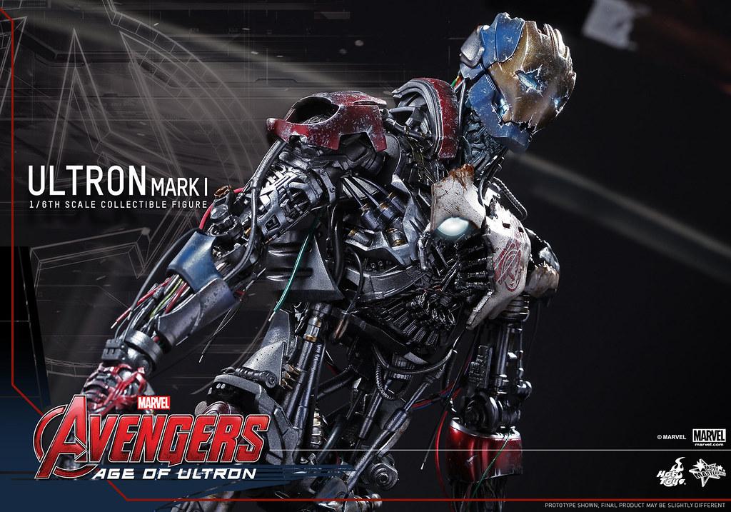 Hot Toys – MMS292 – 復仇者聯盟2:奧創紀元【奧創馬克1】1/6 比例 Ultron Mark I