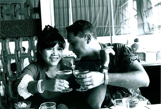 H Co, 2d Battalion, 5th Marines, Tony Maringo and fiancee John John, October 1969