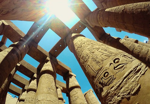 travel tourism temple ancient egypt wideangle lensflare karnak nationalgeographic natgeo ultrawideangle gopro myegypt