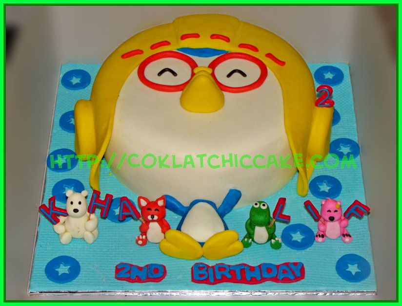 Cake Pororo 1