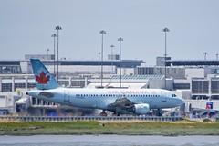 Air Canada Airbus A-319, C-GARG,  departing SFO runway 1L or 1R DSC_0537