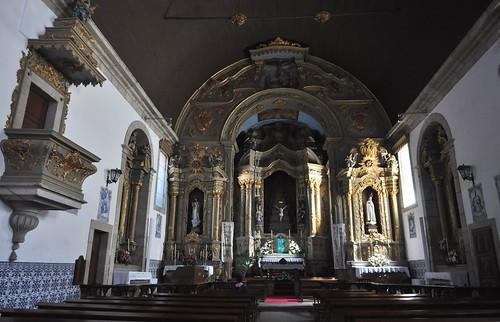 Gouveia (Portugal). Iglesia de San Pedro. Interior