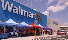 Grand Opening weekend festivities, new Memphis Walmart, June 25, 2016