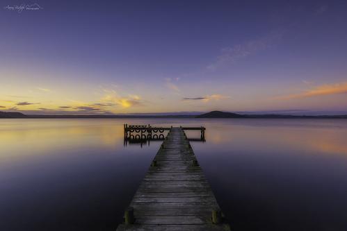 longexposure sunset newzealand lake green landscape rotorua jetty northisland aotearoa d600 newzealandnorth holdensbay aaronbishopphotography