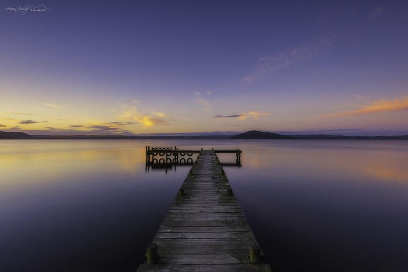 ~ Holdens Bay ~Rotorua, New Zealand, North Island.