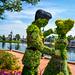 Epcot: Cinderella / Flower & Garden Festival by Hamilton!