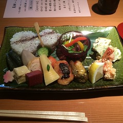 hors d'oeuvre, meal, lunch, food, dish, cuisine, bento,