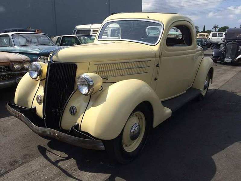 Two door coupes for 1936 lincoln zephyr three window coupe