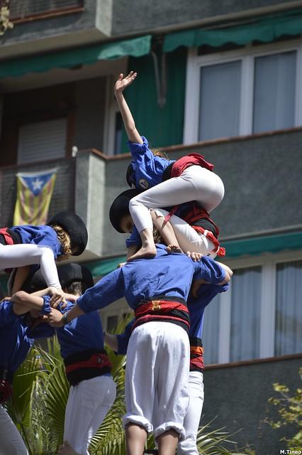 Castellers d'Esplugues a Sants